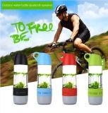 Altavoz al aire libre portable sin hilos de Bluetooth de la nueva botella de agua 2016 con el compás
