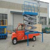 動産4の車輪のトレーラーの空気の働きはワークテーブルを切る