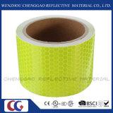 형광성 사려깊은 안전 경고 접착성 기술설계 표하기 테이프 (C3500-OXF)