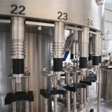 Máquina de etiquetado de relleno automática del agua mineral de la botella del animal doméstico que capsula que se lava