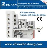 Flexo Printing Machine 5 Color Die Cutting e Slitting Station
