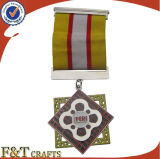 Abitudine 3D Military Metal Medals con Ribbons con Velvet Boxes