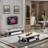 거실 사용 (CT017)를 위한 스테인리스 커피용 탁자