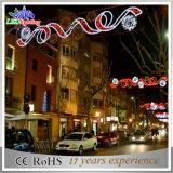 LED-grosses Weihnachtsstraßen-Dekoration-Licht/Feiertags-Motiv-Licht