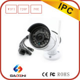 IP Camera de Bullet da rede wireless de 720p IR