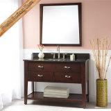 Дешевая тщета ванной комнаты шкафа ванной комнаты твердой древесины