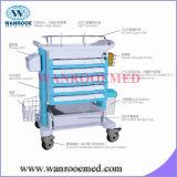 Qualität ABS Krankenhaus-Medikation-Laufkatze