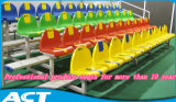 blanqueador de aluminio 4-Row con el equipo plástico moldeado del balompié del asiento Zs-Zkbb-R4-28