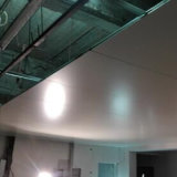 Панель сандвича шерстей утеса, панель чистой комнаты для стационара/микстуры/пищевой промышленности