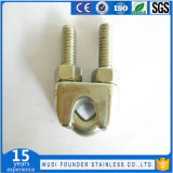 Roestvrij staal Ss304 of Ss316 DIN741 Wire Rope Clips