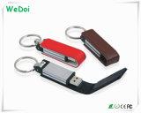 De hete Verkopende Aandrijving van de Flits van het Leer USB met de Garantie van 1 Jaar (wy-L10)