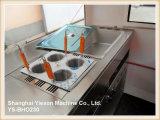 Chariot de déjeuner de chariot de restauration de chariot des aliments de préparation rapide Ys-Bho230