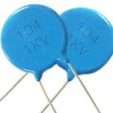 Soppressione di ceramica Tmcc02 blu di interferenza del condensatore del disco ad alta tensione (1KV a 15KV) Y2 250VAC