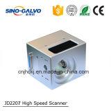 Самый лучший гравировальный станок лазера головки Galvo цифров Jd2207 высокой точности цены