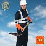 Uniformes r3fléchissants noirs d'exploitation d'OEM, vêtements de travail d'uniforme de technicien