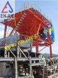 30cbm, 40cbm, tolva móvil portuaria industrial de la prueba del polvo de la tolva 50cbm