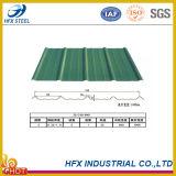 Farbe beschichtetes galvanisiertes gewölbtes Stahldach-Panel-Dach-Blatt