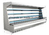 Refrigerador vertical do indicador de Multideck com cortina de ar