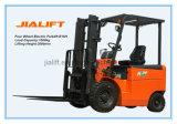 Forklift elétrico de quatro rodas E15h de 1.5 toneladas com motor de C.A.