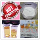 最もよい品質のボディービルのための未加工ホルモンのステロイドの粉Anavar 50mg/Ml