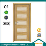 Porta de madeira da melamina nova do projeto para o interior com o E1 (WDP2025)