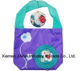 Il sacchetto di acquisto pieghevole dei regali fiorisce lo stile, i sacchetti riutilizzabili, di drogheria, i sacchetti di Tote, leggeri e pratico, accessori & decorazione, promozione