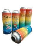 輝いたパターン印刷およびコーティングが付いているブタンのガスの缶