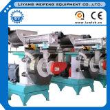 Baixa linha de produção de madeira da pelota do consumo 1-4t/H de Engergy com potência de 100-200kw