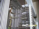 Aislante de tubo inconsútil del acero inoxidable de la precisión de Tp316L