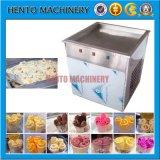 タイ様式はアイスクリームロールメーカー機械を揚げた