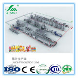 Neue Technologie-Kleinmilch-Saft-Maschinerie/Füllmaschine für Verkauf