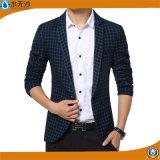 OEM da fábrica blazer ocasional do algodão da forma do blazer de 2017 homens da mola