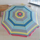 Зонтик пляжа оптового высокого качества выдвиженческий рекламируя