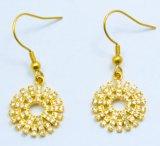 2017 joyas de oro de moda de acero inoxidable de los pendientes de aro Mujeres