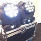 lumière principale mobile de faisceau de 12X12W RGBW 4in1 DEL