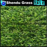 relvado artificial da grama do monofilamento de 140stitch/M para o jardim