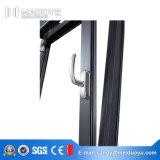 Finestra di alluminio di alta qualità con il funzionamento aperto della stoffa per tendine