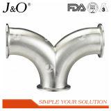 衛生ステンレス鋼Bpe 90度クリップ肘の管付属品のアクセサリ