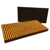 単一の黄色い屋外LEDのモジュール