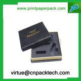 Casella di carta d'imballaggio della catena chiave di stampa di Cmyk di modo con l'inserto della gomma piuma