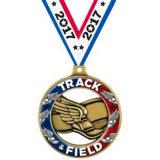 Medaglia d'ottone su ordinazione di maratona con la sagola