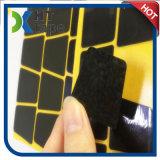 Schwarzer Nano Mikroabsaugung-Aufkleber kann frei sein, glatte Oberfläche zu haften