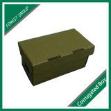 저장 상자가 보통 Foldable Kraft 종이에 의하여 구두를 신긴다