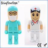 Het ziekenhuis Doctor Shape USB Pen Drive in Robot Style (xh-usb-147)