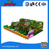 Спортивная площадка типа Jungel верхнего качества коммерчески крытая для оборудования Playcenter детей крытого