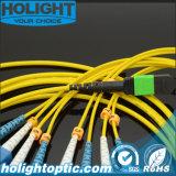 Sc Smの光ファイバパッチケーブルへの8コアMPO