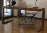 순수한 판매에 단단한 나무 책상 컴퓨터 책상 책장에 의하여 계약되는 가구