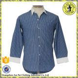 Dernier Mini Club Collar Design Mens Casual Dress Shirts Chemises manches longues