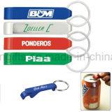 Porte-clés en aluminium d'ouvreur de bouteille pour l'ouvreur promotionnel de porte-clés (ABO006)