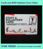 4 사업을%s 자석 줄무늬를 가진 색깔 Cr80 표준 카드